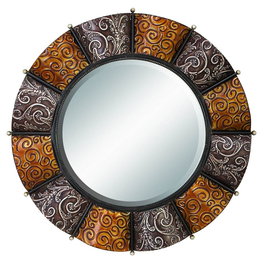 Round Decor Wall Mirror