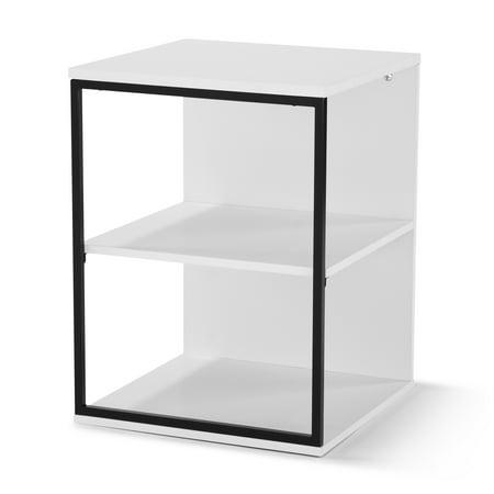 Awe Inspiring Mainstays Kalla Wood And Metal 3 Shelf End Table Multiple Machost Co Dining Chair Design Ideas Machostcouk