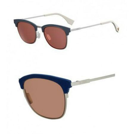 Sunglasses Fendi 228 /S 0J2B Silver Ed / 4S burgundy lens