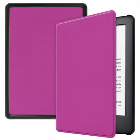 Allytech Folio Case for All-New Amazon Kindle 10th Generation, 2019 Released (NOT for Paperwhite), Ultra Slim Lightweight Full Protection Shockproof Smart Shell Auto Sleep Wake Cover, Purple ()