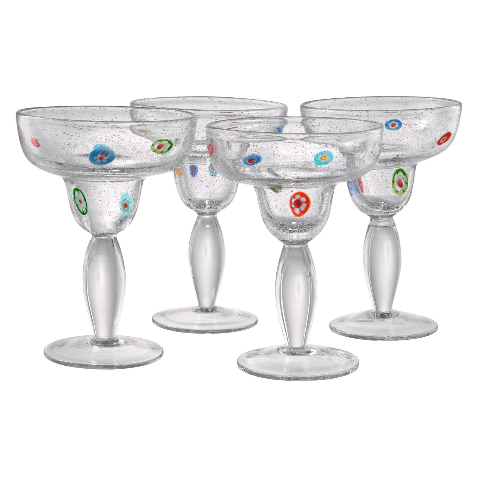 Artland Inc. Fiore Margarita Glasses - Set of 4