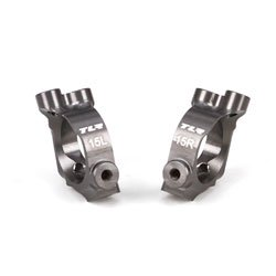 Team Losi Racing 234026 Castor Block Set, 15 degrees, Aluminum: