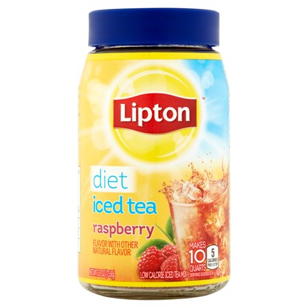 Lipton Drink Mix, Diet Raspberry Iced Tea, 2.6 Oz, 1 Count
