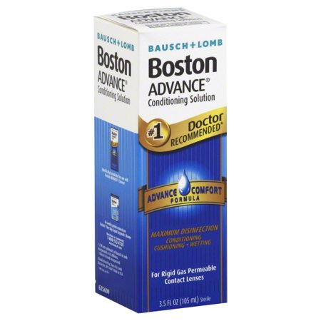 Bausch   Lomb Boston Conditioning Advance Comfort Formula Solution  3 5 Fl Oz