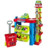 Creative Time Excellent Kids Supermarket Fun Playset With Shopping Cart