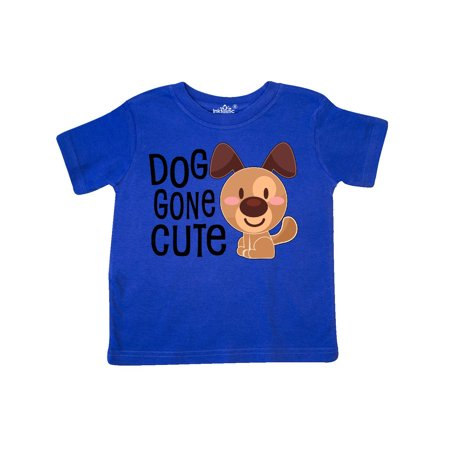 Doggone Cute- happy puppy Toddler T-Shirt - Puffy Skirts For Kids