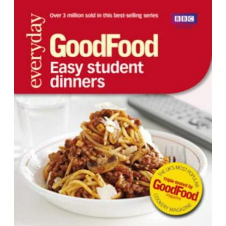Good Food: Easy Student Dinners - eBook - Good Halloween Dinners