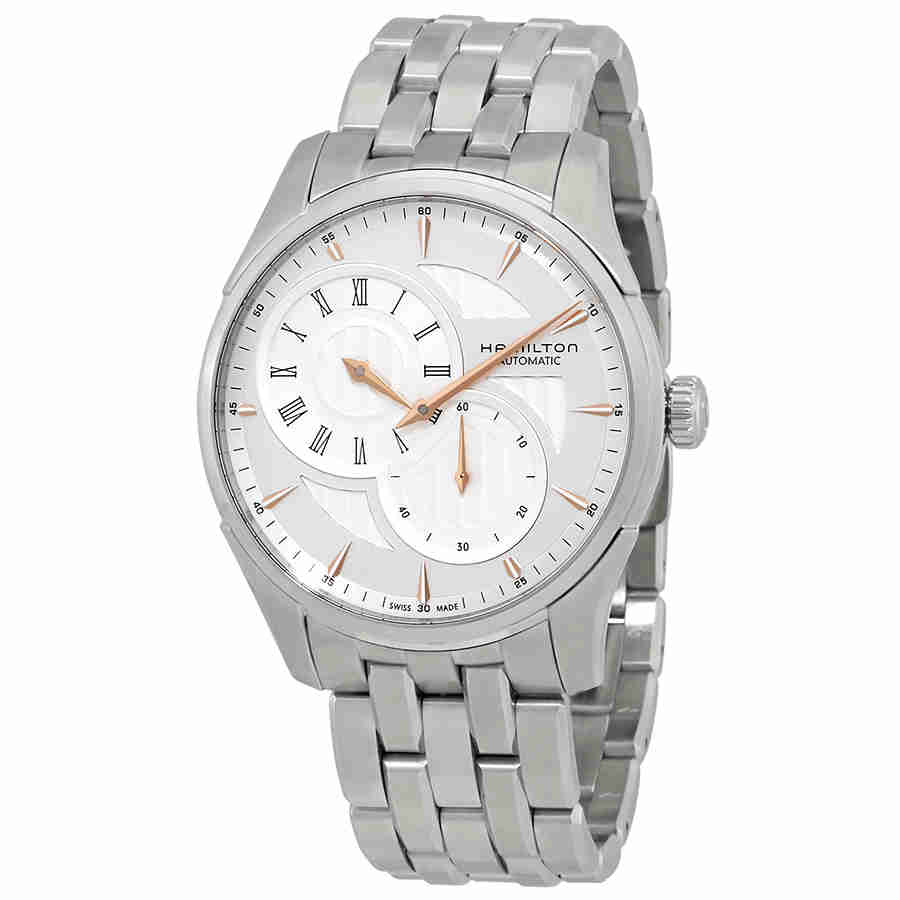 Hamilton Jazzmaster Regulator Automatic Silver Dial Mens Watch H42615151 by Hamilton