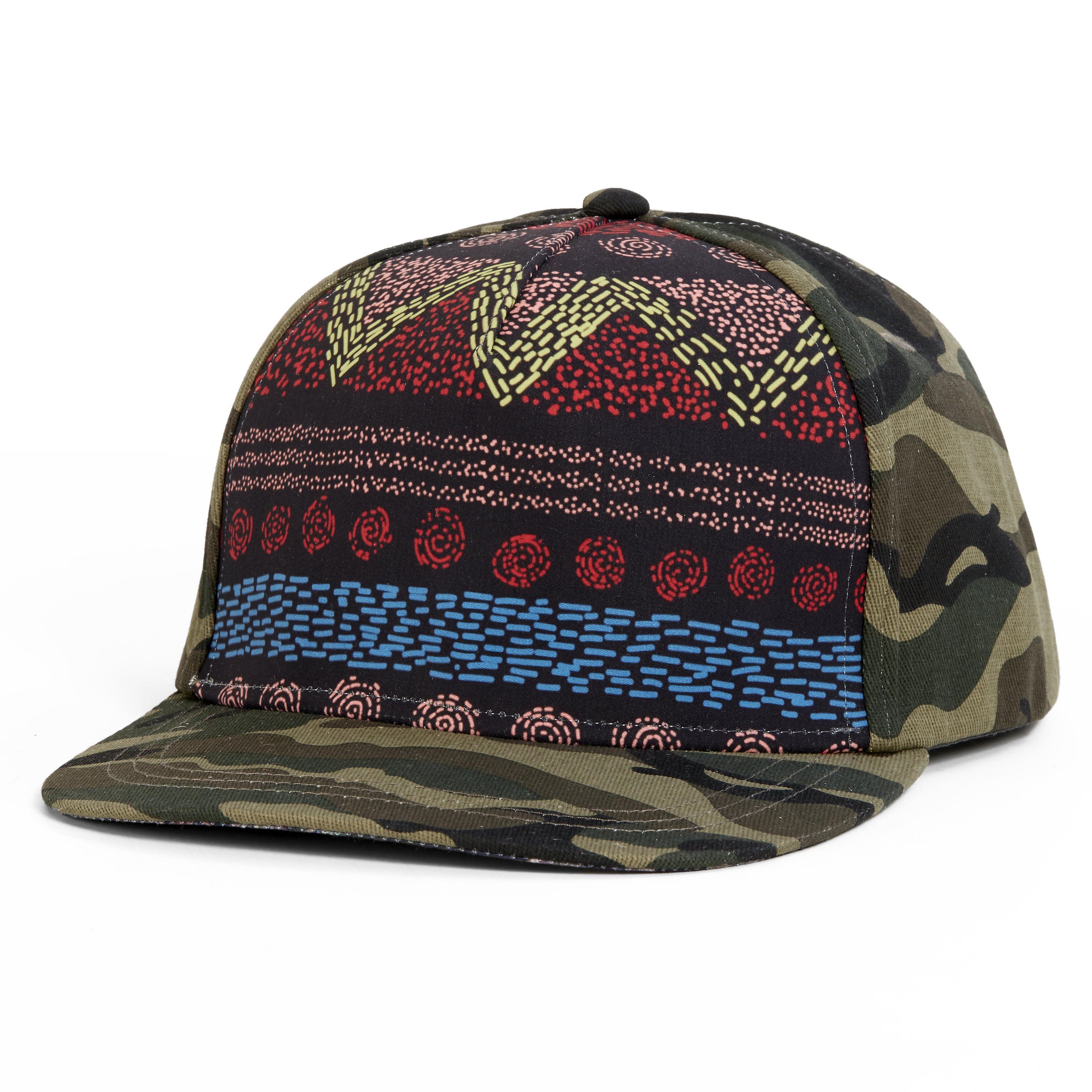 Turtle Fur Lady Camo Trucker Baseball Cap