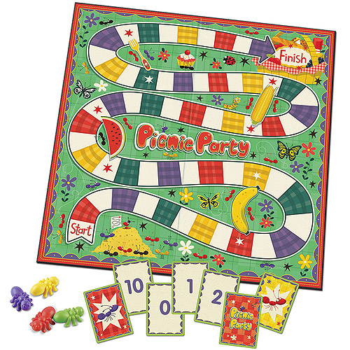 Learning Resources Picnic Party Kindergarten Readiness Game
