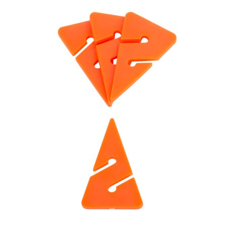 IST Pack of 5 AW-3 Directional Guide Line Arrow, Fluorescent Orange