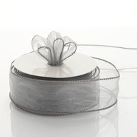 """Efavormart Multiple Colors Wedding Party Event Decoration Wired Organza Ribbon 1 1/2"""""""