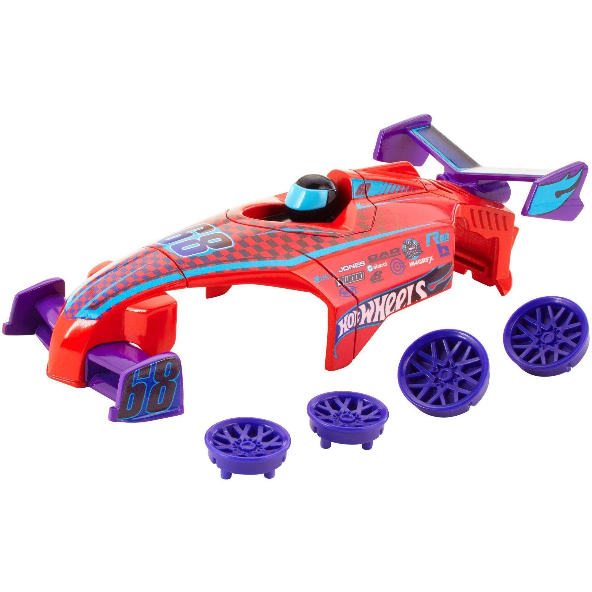Hot Wheels A.i. Hyper Streak Car Body & Wheels Custom Kit by Mattel
