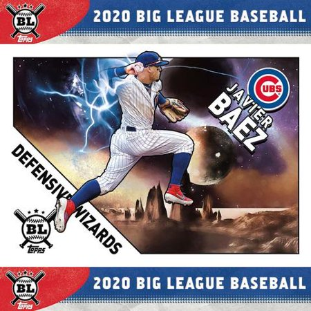 2020 Topps Big League Baseball MLB Trading Cards Blaster Box- 10 packs per Box | 10 cards Per Pack | 5 Blue Parallel per box