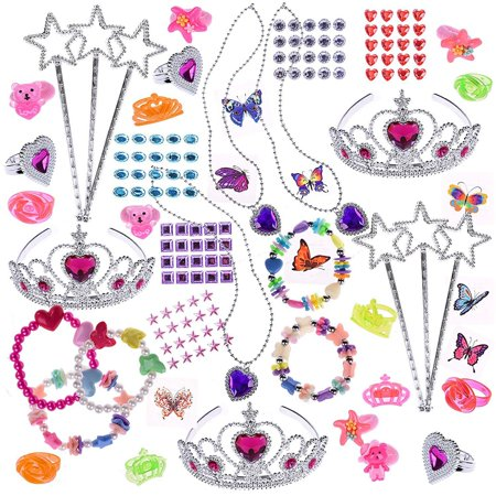 68Pcs Princess Party Favor Toys for Girls, Party Favor for - Princess Tiara Favors