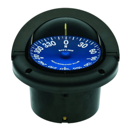 RITCHIE COMPASSES SS-1002 Compass, Flush Mount, 3.75