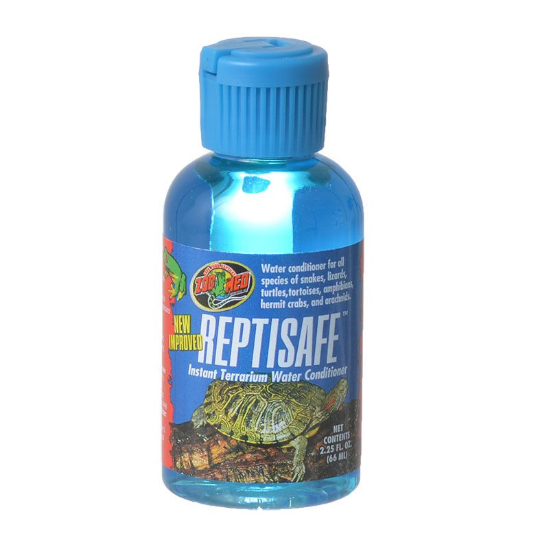 Zoo Med Laboratories Inc-Reptisafe Instant Terrarium Water Conditioner 2.25 Ounce