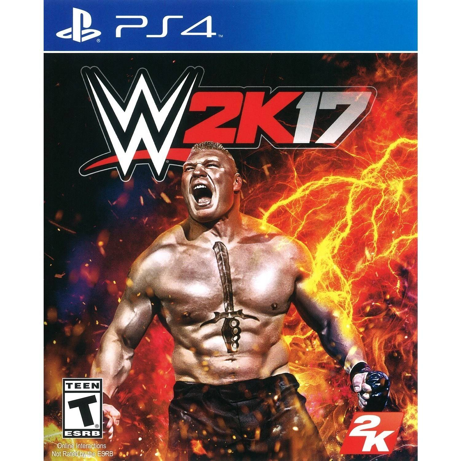 WWE 2K17 (Playstation 4) by TAKE 2 INTERACTIVE