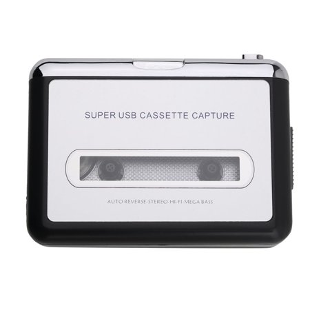 Top Quality USB2 0 Portable Tape to PC Super Cassette To MP3 Audio