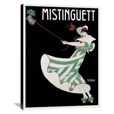 Global Gallery Mistinguett Museum Wrapped Canvas Wall Art