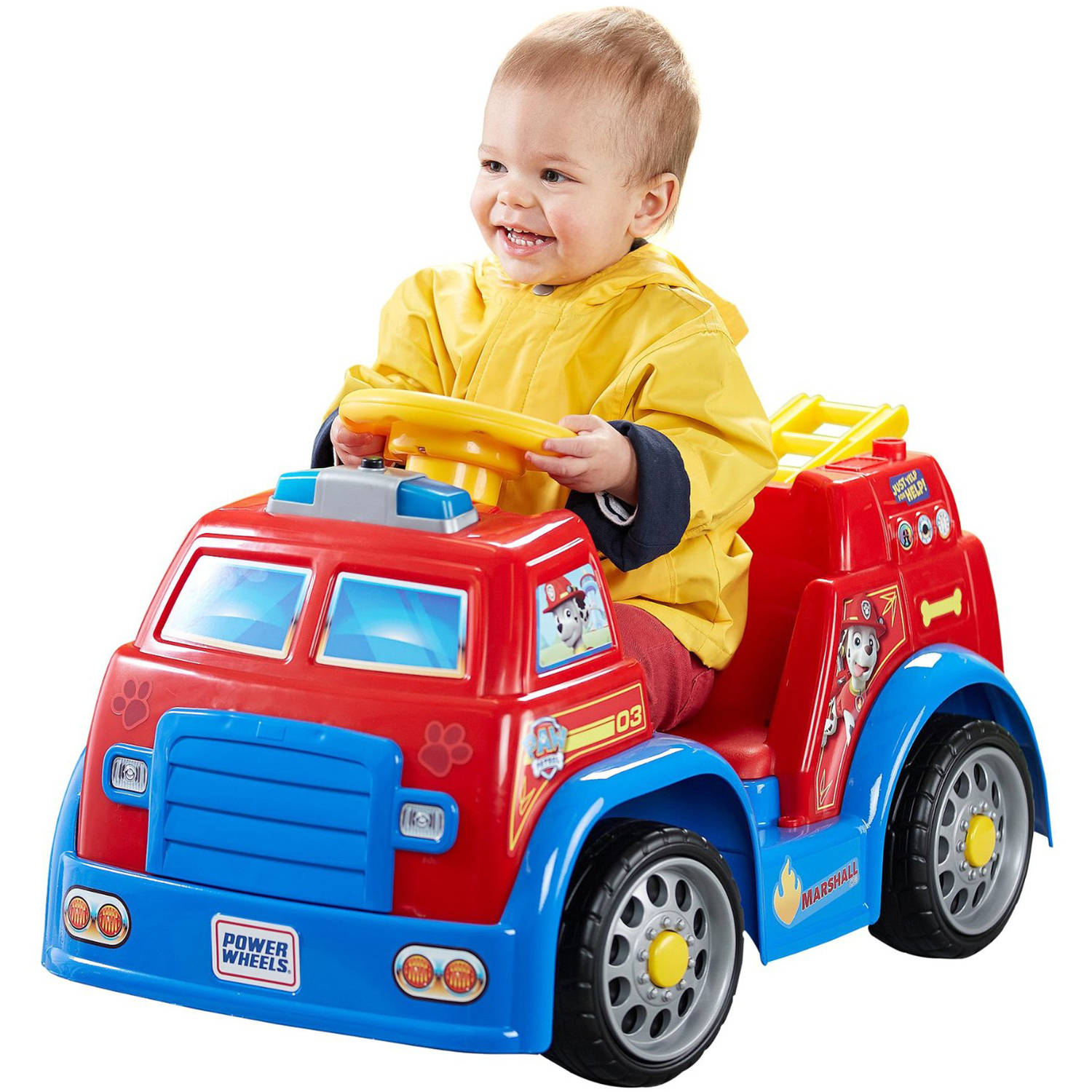 Power Wheels PAW Patrol Fire Truck Kids Ride Toy Car Ideal Gift