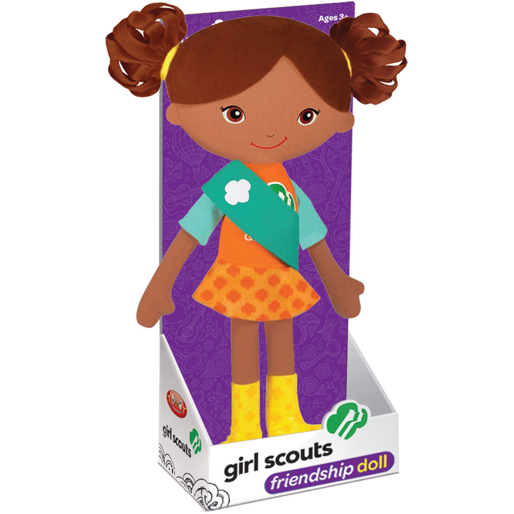 Girl Scout Carly Friendship Doll, African American by YOTTOY