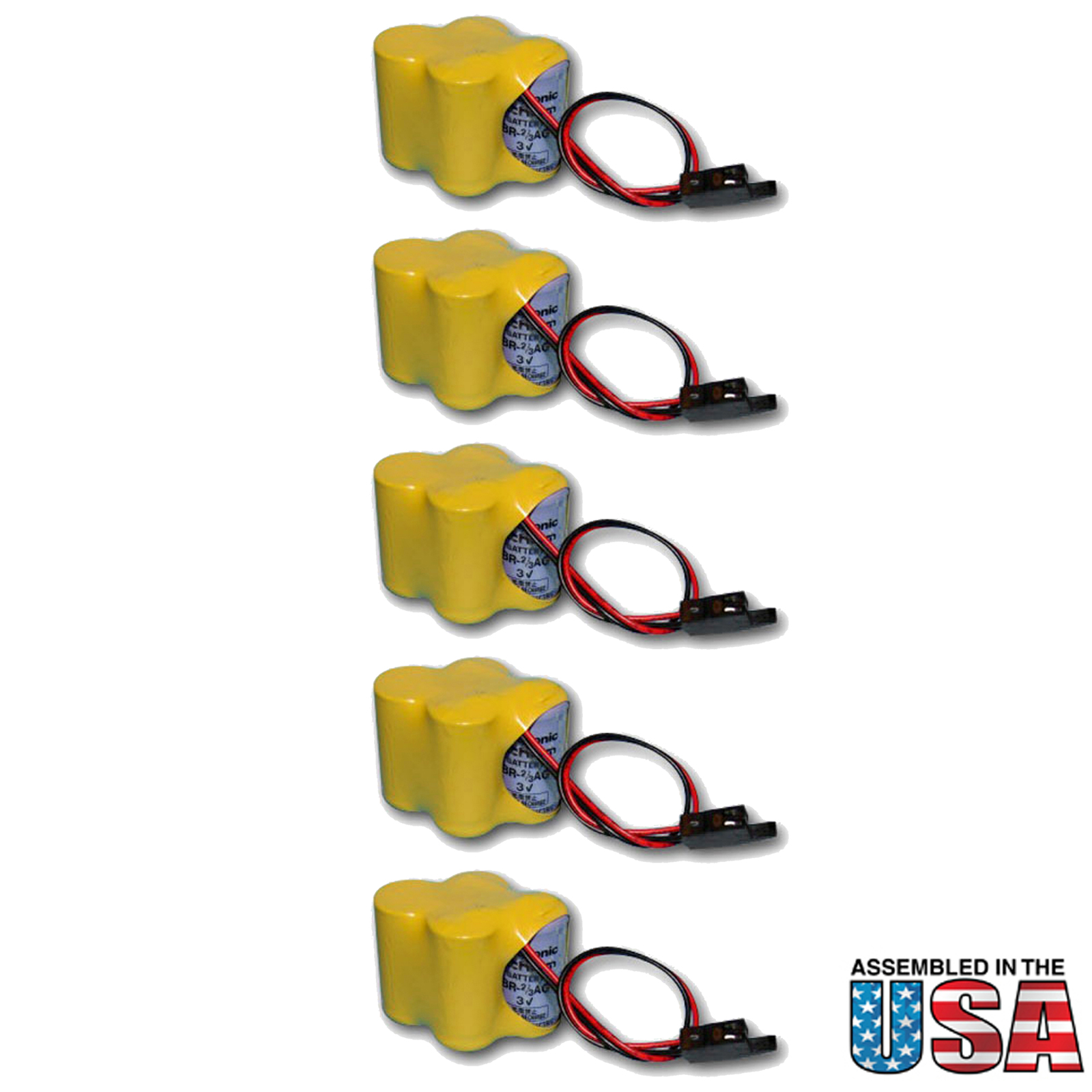 5pc PLC Backup Battery Replaces Interstate ALIT0138 LIT0138 FAST USA SHIP