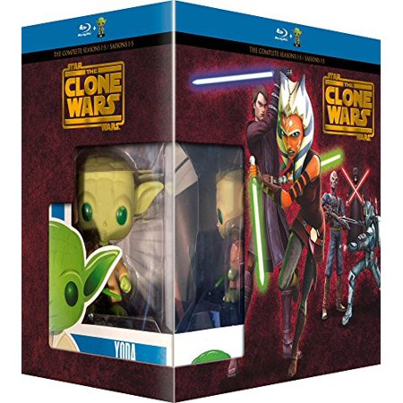Halloween Wars Season 4 Episode 2 (Star Wars: The Clone Wars (Complete Seasons 1-5) - 14-Disc Box Set & Yoda FUNKO Figurine ( Star Wars: Clone Wars - Seasons One to Five (108 Episodes) ) [)