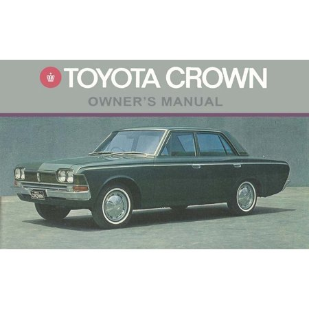 Bishko OEM Maintenance Owner's Manual Bound for Toyota Crown 1967