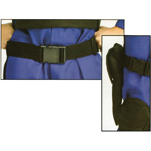 Black Belt and Holster Set Adult Halloween Accessory