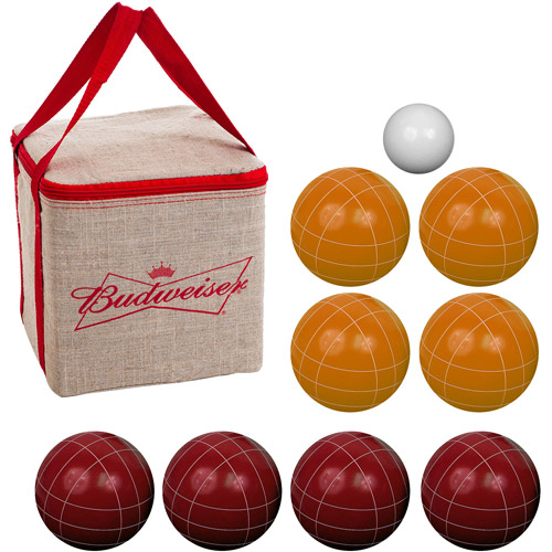 Trademark Global Bocce Ball Set with Carrying Case, 5 Styles to Choose From