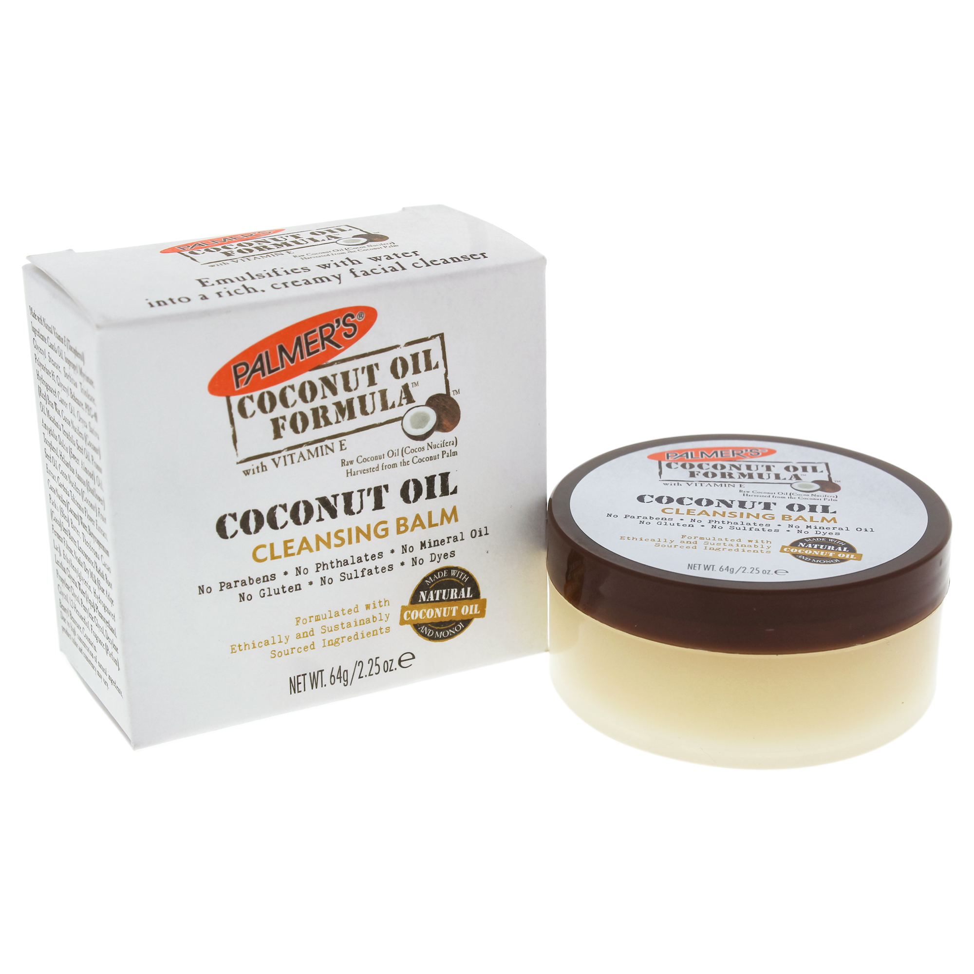 Coconut Oil Cleansing Balm by Palmers for Unisex - 2.25 oz Cleanser