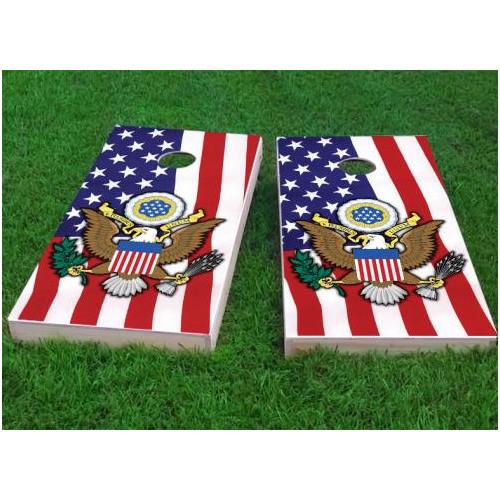 Custom Cornhole Boards United States Seal Cornhole Game (Set of 2)