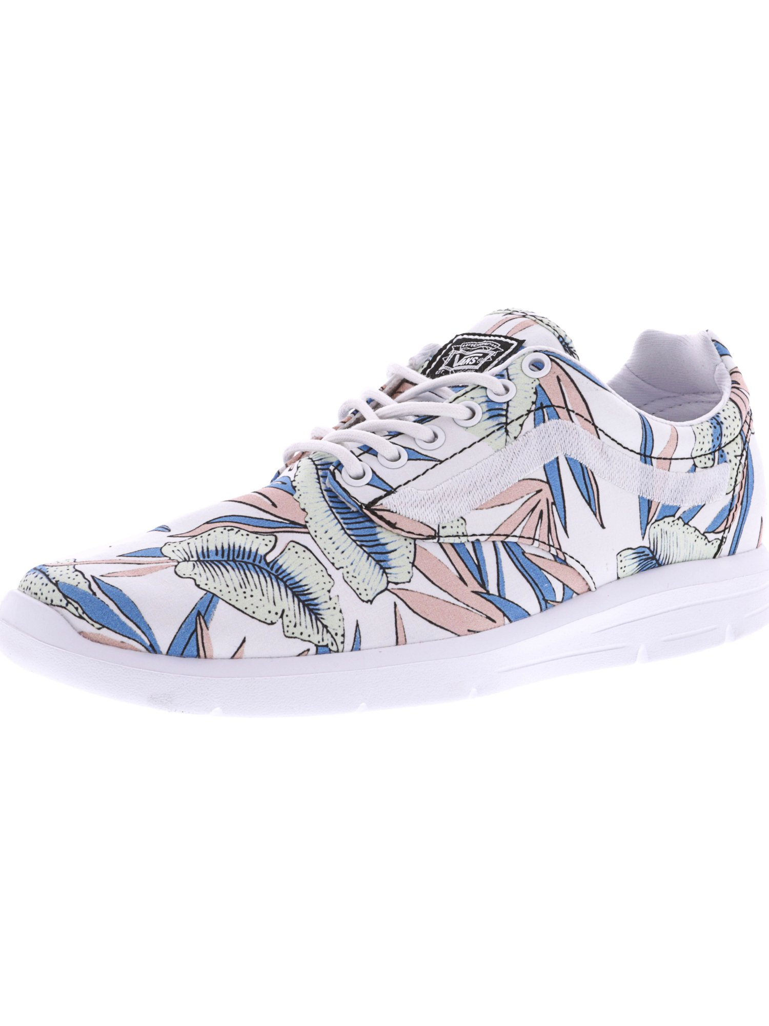 dfba2f9144 Vans Iso 1.5 Tropical Leaves True White   Ankle-High Canvas ...