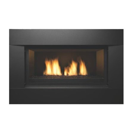Sierra Flame NEWCOMB-36-LP 36 in. Newcomb Linear Direct Vent Gas Fireplace - Liquid Propane ()