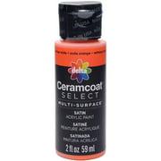 Ceramcoat Select Multi-surface Paint 2oz-orange Soda