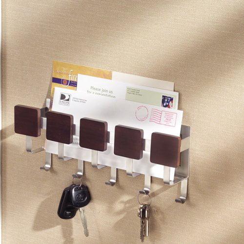 InterDesign Formbu Mail, Letter Holder, Key Rack Organizer for ...
