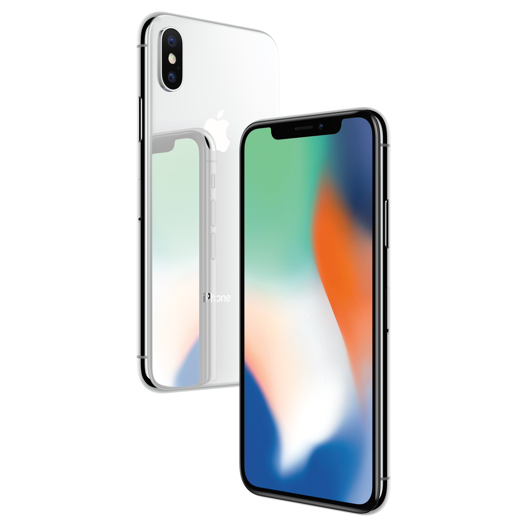 Total Wireless Prepaid Apple iPhone X 64GB, Silver