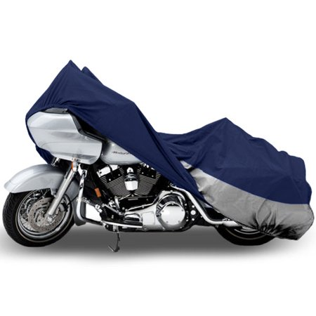Motorcycle Bike Cover Travel Dust Storage Cover For Harley Road King Custom Classic (Custom Stores)