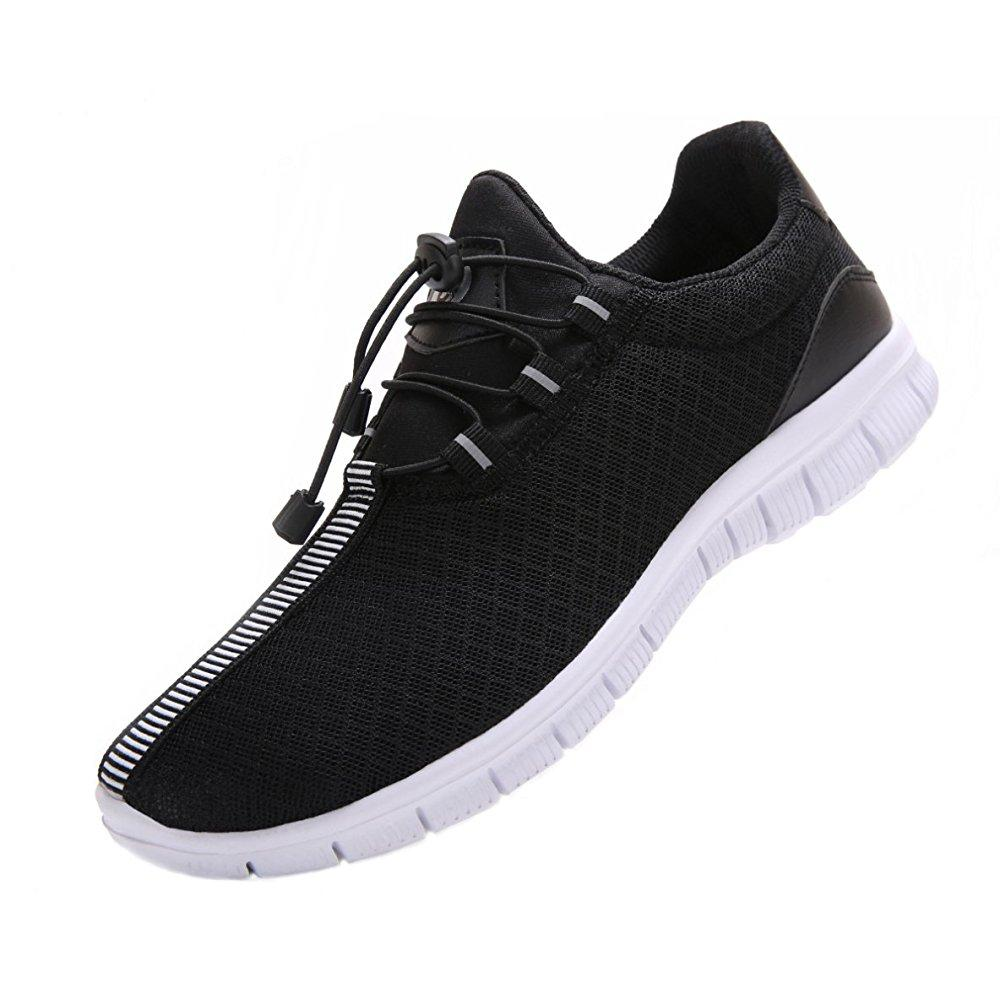 Mens Running Pattern Shoes Fashion Breathable Sneakers Mesh Soft Sole Casual Athletic Lightweight