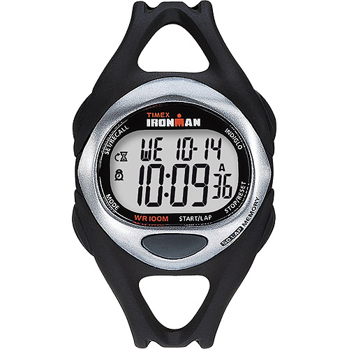Timex Men's Ironman Sleek 50 Full-Size Watch, Black Resin Strap