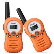 Kids Walkie Talkies for Kids, Long Range Two Way Radios 22 Channel Walky Talky FRS Walkie Talkies for Kids (Orange)