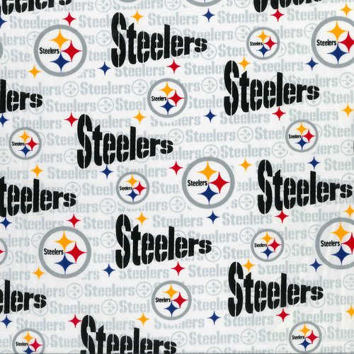 NFL Pittsburgh Steelers Cotton Fabric