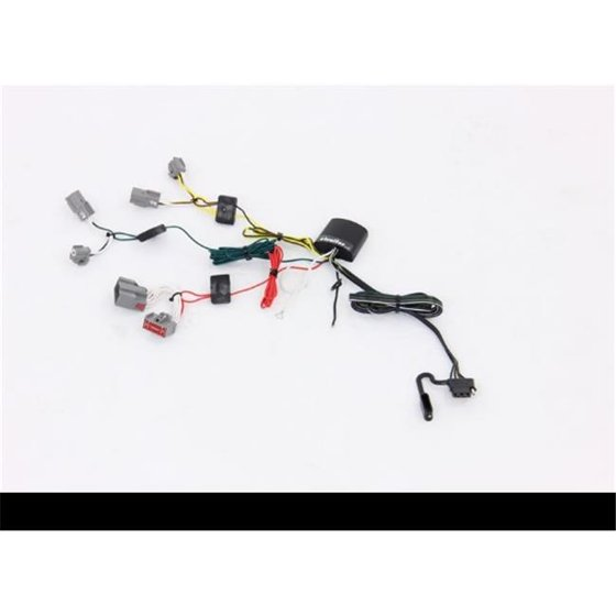 Tekonsha T1M-118774 T-One Vehicle Wiring Harness with 4-Pole Flat Trailer on