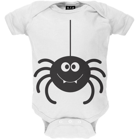 Halloween Cute Spider Baby One Piece](Cute Halloween Ideas For Groups)