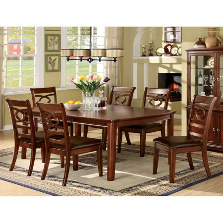 of america presteena brown cherry 7 piece dining set