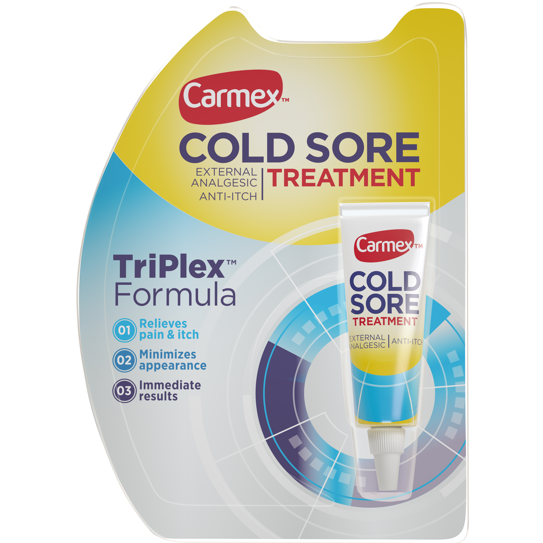carmex cold sore treatment 0 07 oz walmart com