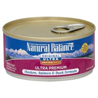 Natural Balance Original Ultra Whole Body Health® Chicken, Salmon & Duck Canned Cat Formula