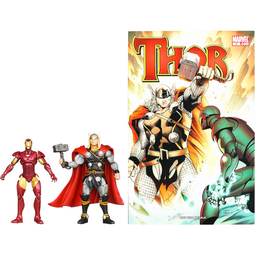 Marvel Thor Vs Iron Man Figure Set