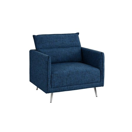 Upholstered 35 4 Quot Inch Fabric Armchair Living Room Accent
